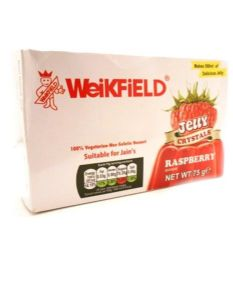 Raspberry Vegetarian Jelly Crystals By Weikfield | Buy Online at the Asian Cookshop